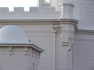 Byron lighthouse detail