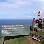 The most easterly point of the Australian mainland