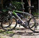 Enjoy a day on the PLANULA mountainbikes - The centre of Byron is an easy 10 minute cycle away